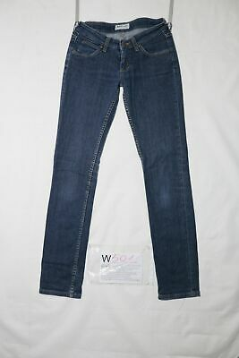 Lee NORMA SLIM STRETCH usato (Cod.W501) W27 L33 denim jeans donna vita bassa