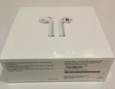 NEW, SEALED AND GENUINE Apple AirPods 2nd Generation with charger Case