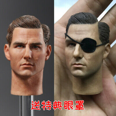 1//6 European Male Head Model Tom Cruise Head Sculpt Fit 12/'/' Figure