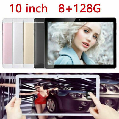 10 pollici Tablet RAM 8G ROM 128G PC Bluetooth Android 8.0 10 Core WIFI 2 SIM