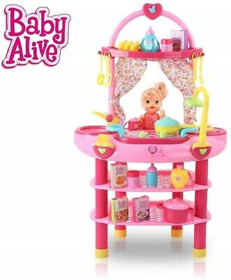 Baby Alive Cook'n Care 3-In-1 Set *Distressed Pkg