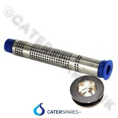 350Mm Tall Commercial Sink Plug & Filter Strainer Kit Overflow Standpipe