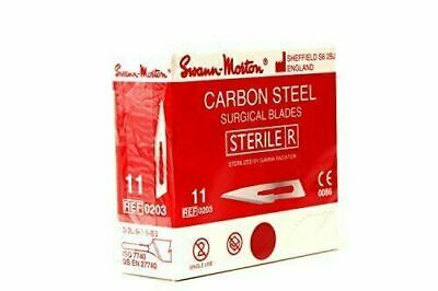 Swann Morton ***Sterile Scalpel Blades Red Box*** Carbon Surgical Blades Sterile