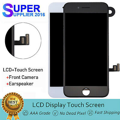 For iPhone 8 LCD Touch Display Digitizer Assembly Full Screen Replacement Camera