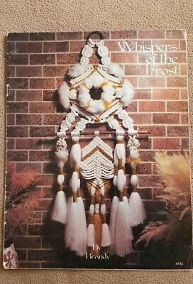 Collectible Macrame Whispers of the Frost Booklet