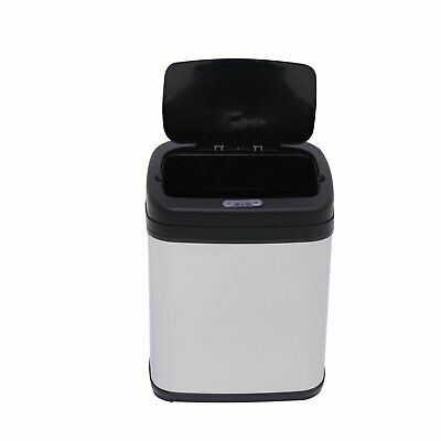 Homcom 20L LUXURY Automatic Sensor Kitchen Waste Bin Stainless Steel with Bucket