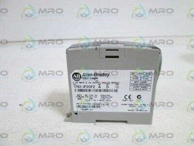 Allen Bradley 1762-If2Of2 Ser. A * New No Box *