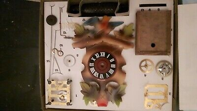 Cuckoo Clock kit with mechanical movement new old stock with instructions