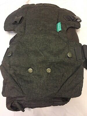 Infantino Flip Advanced 4-in-1 Convertible Carrier Gray Great Condition!