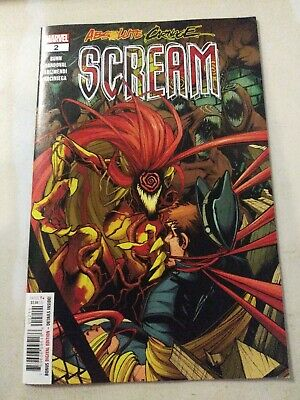 Absolute Carnage Scream #2 Main Cover Marvel 2019 VF/NM