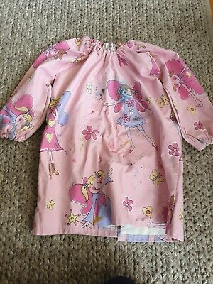 Dancing Fairy Kids Art Painting Pottery Cooking Art Smock  *Size Kids 6*