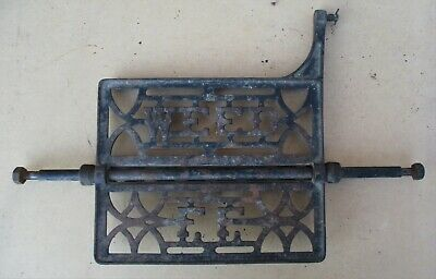 Weed Sewing Machine Co. Antique Cast Iron Treadle Foot Pedal