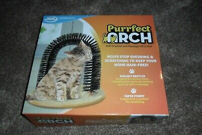 Cat/purrfect grooming arch - used once and still in the original box