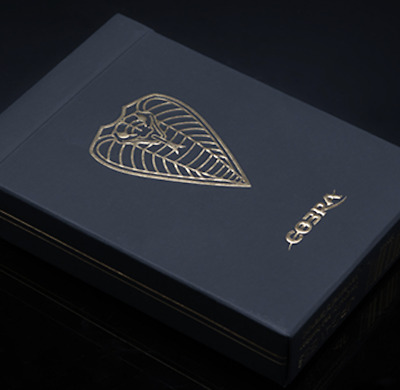 COBRA Black Edition Playing Cards - LIMITED EDITION
