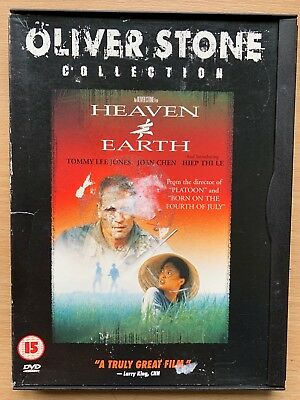 Heaven and Earth DVD 1993 Oliver Stone Vietnam War Movie Classic in Snapper Case