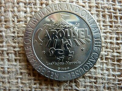 MAARTEN N.A. $1 PROOF-LIKE SLOT TOKEN LITTLE BAY HOTEL CASINO 1966 FM COIN ST
