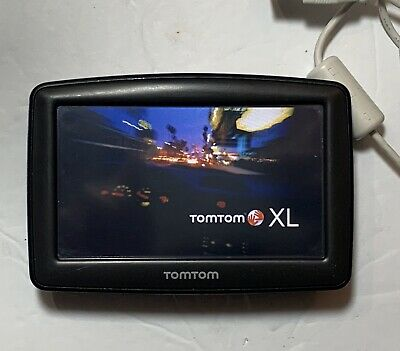 TomTom XL Widescreen 4EM0.001.02 N14644 GPS Car Navigation System Unit Only