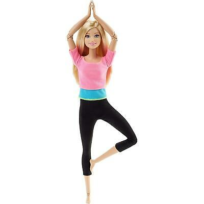 Barbie Made to Move Doll Action Poses Mattel CHOP
