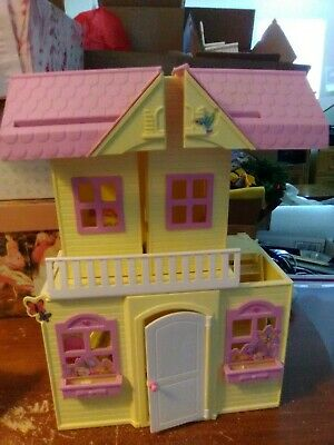 1990's Barbie Kelly Doll Pop-Up Playhouse along with Kelly Dolls, Train and more