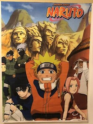 NARUTO ~ LIGHT AND DARK SIDE ~ 24x36 Anime Poster ~ NEW//ROLLED Shonen Jump