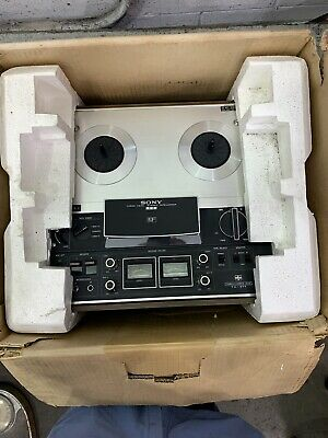 Sony Stereo Reel To Reel Tape Deck TC-377
