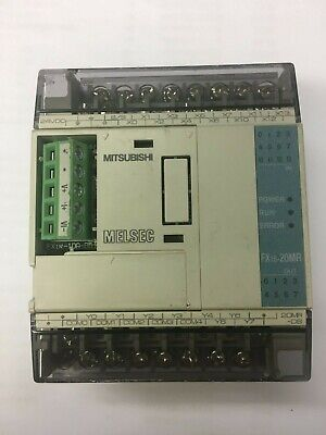 Mitsubishi Melsec Programmable Controller FX1S-20MR-DS used