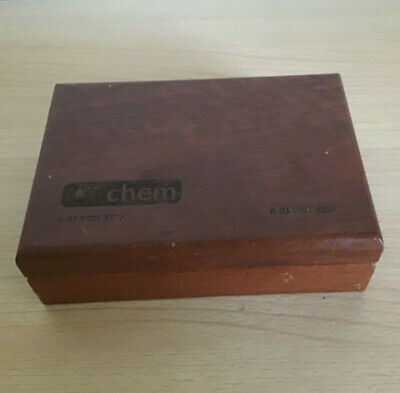 Vintage Wooden Stamp Wooden Box Concealed Hinge Very Good Condition