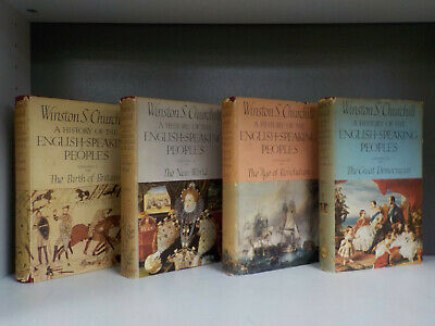 Churchill - A History Of The English-Speaking Peoples - 1st - 4 Books (ID:6365)