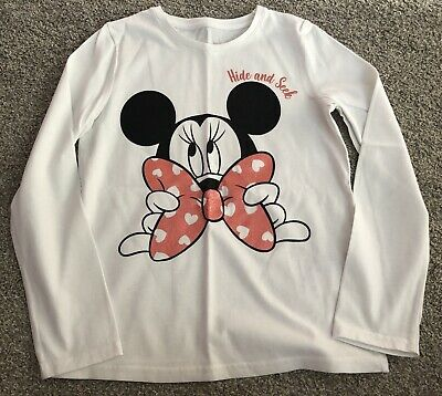 Girls Disney Minnie Mouse Top 7-8 Years