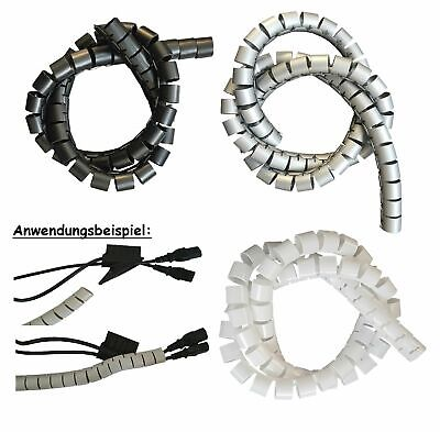 2m Cable Protection Cable Routing 15mm Incl. Tool