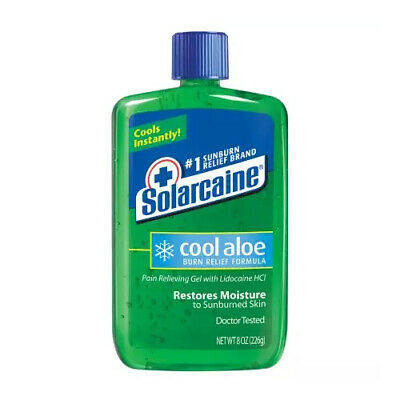 BAYER 1 EA Solarcaine Cool Aloe Extra Burn Relief Gel with Lidocaine, 8 oz. CHOP