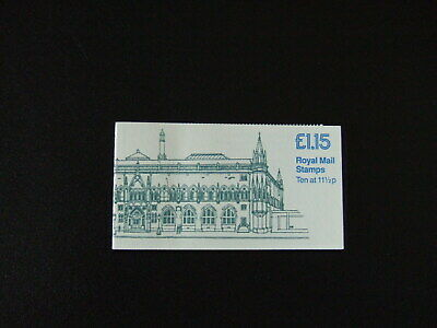 Gb £1.15 Booklet Fi4B - Museums - National Museum Of Antiquities Of Scotland