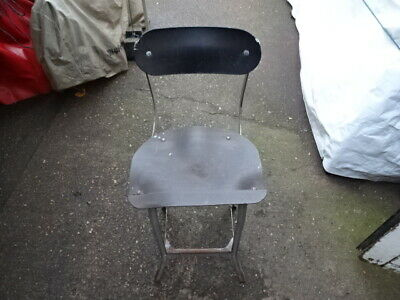 Industrial Vintage Retro Machinist Engineers Factory Lab Stool Seat Chair Office