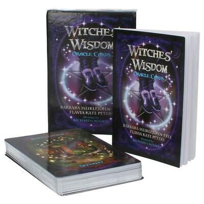 48 Witches Wisdom Oracle Cards Tarot Love Fortune Telling Mysterious Prediction
