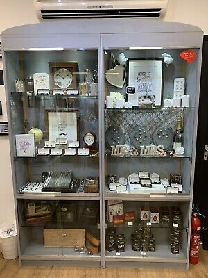 Shop Display Cabinets - Most Lockable With Keys