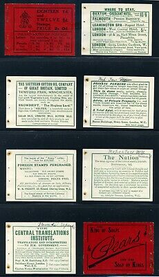 1912 KGV Downey Head 2s Red EXPLODED Booklet SG BB3