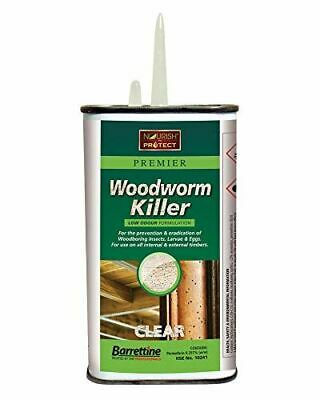 Nourish & Protect SPWW.25 250 ml Solvent Preserver Woodworm Killer, Clear