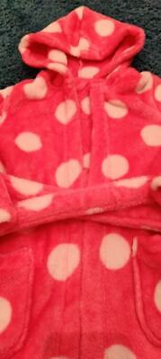 Girls Age 3-4 Years M&S Dressing Gown *Excellent Condition*