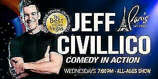 Tickets To Jeff Civillico Comedy In Action Show In Las Vegas At Paris Hotel