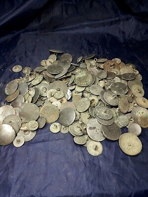 Metal Detecting Finds Large Job Lot collectable buttons
