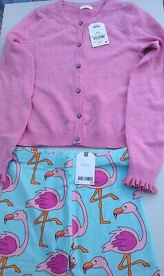 Next girls cardigan and cropped leggings age 9