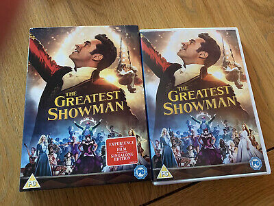 The Greatest Showman DVD With Sleeve