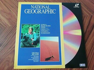 Laser Disc National Geographic I