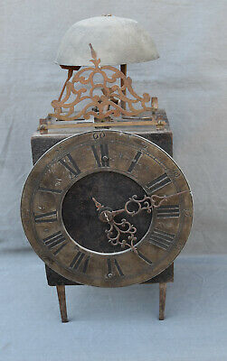 Antique 17/18th Century Lantern  Clock