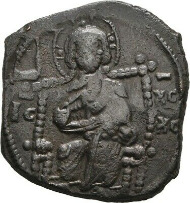 Lanz Byzantine Empire Anonymous Follis Constantin Class D Christ Bronze §Dka2179