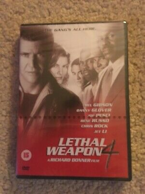 Lethal Weapon 4 Dvd New And Sealed