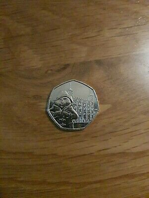 Paddington Bear Tower Of London 50p Coin 2019