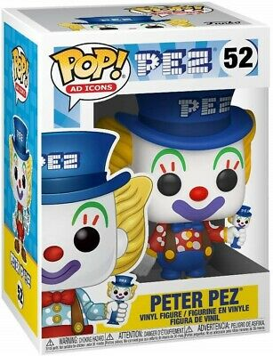 Funko - POP Ad Icons: PEZ ² Peter Pez (Blue Hat) Brand New In Box