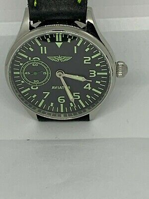 Aviator 3602 (#3) Marriage wristwatch 18 Jewels