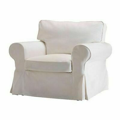 Fantastic Ikea Cover For Ektorp Chair Blekinge White Cotton Armchair Pabps2019 Chair Design Images Pabps2019Com